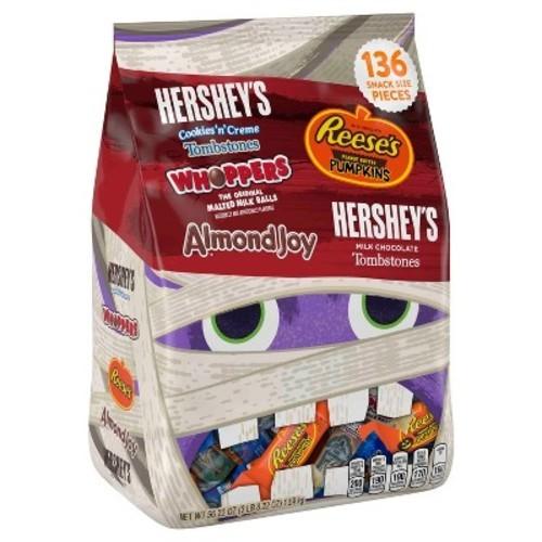 Reeses Auto Sales >> Hershey's Cookies'n'Crème, Whoppers, Reese's, Almond Joy and Hershey's Milk Chocolate Halloween ...