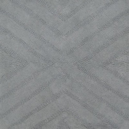 618bac024b78 Textured Stripe Square Bath Rug Silver Springs - Nate Berkus - Check ...