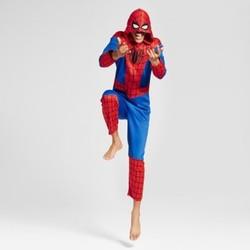 Men's Spider-Man Union Suit- Red L 1632877