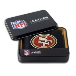 Embroidered Billfold Wallet: 49ers