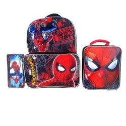 "Marvel Spider-Man 16"""" Homecoming Kids' Backpack with Lunch Bag and Pencil Case"" 1635727"