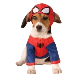 Spider-Man Dog Costume Set - Medium - Boots & Barkley 1638041