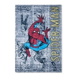 Marvel Spider-Man Hero Bed Blanket - Gray - Size: Twin (JF22978E) 1638092