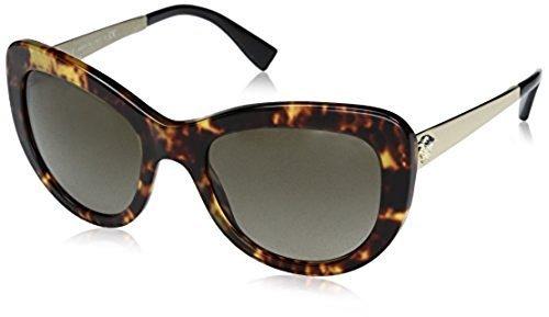 e7ea05cf0374 Versace Women s Cat Eye Sunglasses - Havana Frame (VE4325-520813 ...