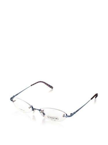 cd790bc17a ... Coach Paula Optical Frames for Women - 52mm - Titanium Blue - 52mm ...