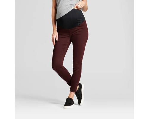 fa09ad7b7acdf Maternity Inset Panel Skinny Jeans - Isabel Maternity by Ingrid ...