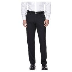 Haggar H26 Men's Performance 4 Way Stretch Straight Fit Trouser Pants - Black 34x34