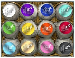 ArtNaturals 12-Piece Bath Bomb Set