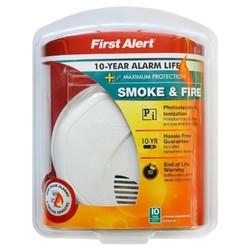 First Alert Personal Smoke Alarm-10 year Alarm Life 1672561