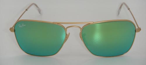 0de744a0f73f2 Ray Ban Unisex 58mm Caravan Sunglasses - Gold Frame Green Lens ...