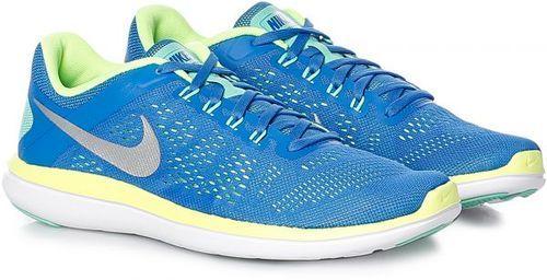 29aff93ebdfd9 ... Nike Women s Flex 2016 RN Running Shoes - Blue Metallic Silver - Size   ...