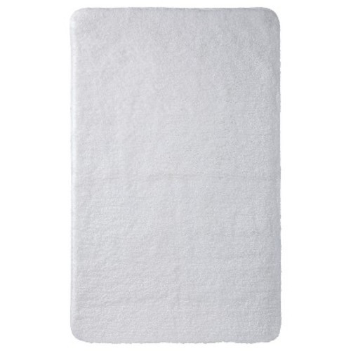 "Threshold Bathroom Rugs: Performance Bath Rug (23""x37"") White"