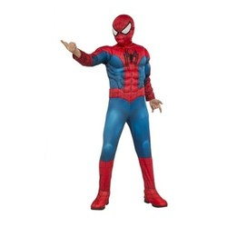Spider-Man  Deluxe Muscle Boys' Costume M (7-8) 1685939