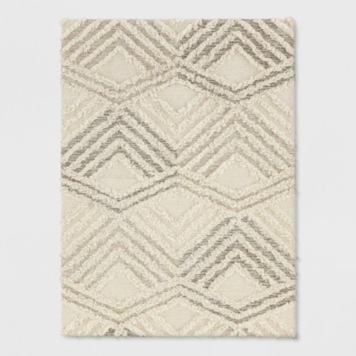 Cream Moroccan Wedding Area Rug 5 X7 Project 62