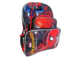 "Marvel Kids' 16"""" Spider-Man Backpack with Lunch Bag and Pencil Case - Red"" 1682283"
