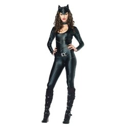 Leg Avenue Women's Feline Femme Fatale Costume - Black - Size:S 1714224