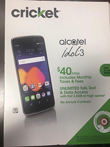 Cricket Alcatel Idol 3 - Check Back Soon