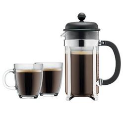 Bodum Glass & Stainless Steel 34oz French Press Coffee Maker 1733219