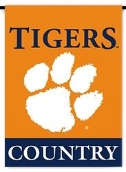 NCAA 2-Sided Country Garden Flag: Clemson Tigers 1742874