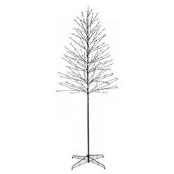 Philips 7ft Prelit Slim Artificial Christmas Twig Tree