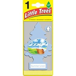 CAR FRESHNER Summer Linen Little Tree Air Freshener 1745223