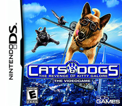 Cats & Dogs: Revenge of Kitty Galore for Nintendo DS 1732475