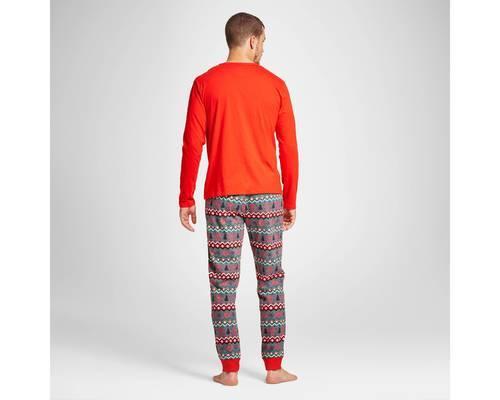 a9953e0869 Wondershop Men s Reindeer Fair Isle Pajama Set - Red - Size M ...
