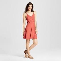 Women's Skater Ribbed Dress - Mossimo Supply Co.  Pink S 1759205