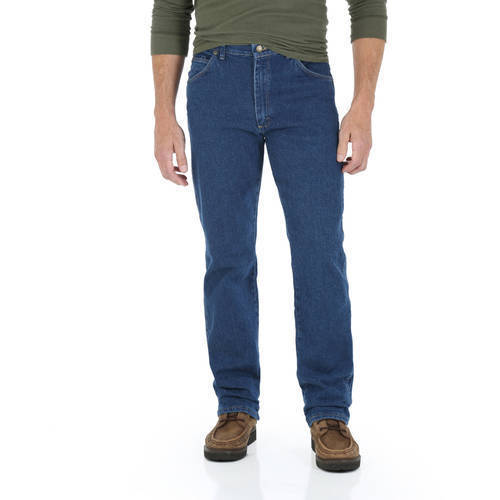 2d98c7a9 Wrangler Big Men's Regular Fit Jeans - Dark Stonewash Blue - Size: 46x29 -  Check Back Soon - BLINQ