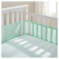 BreathableBaby Solid Mesh Crib Liner - Joyful