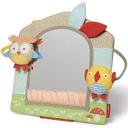 Skip Hop Baby Treetop Friends Activity Mirror - Grey Pastel 228733