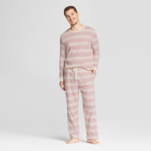 Burt's Bees Baby Men's Organic fair Isle Pajama Set - Ivory - Size ...