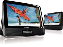 "Philips PD9012/37 9"" 2 Screen Portable Car DVD Player (PD9012/37)"