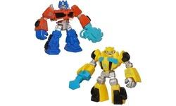 Hasbro Transformers Optimus Prime Bumblebee Playskool Figures - Pack of 2 1703420