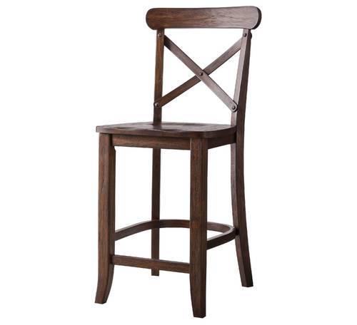 Groovy Harvester X Back 24 Hardwood Counter Stool Antoque Rustic Espresso Check Back Soon Creativecarmelina Interior Chair Design Creativecarmelinacom