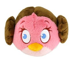 "Angry Birds Star Wars 5"" Soft Bird - Leia"