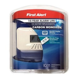 First Alert Personal Alarm Digital Display-10 year Alarm Life 1803779