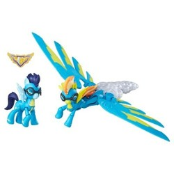 My Little Pony Guardians of Harmony Spitfire and Soarin' Figures 1806987