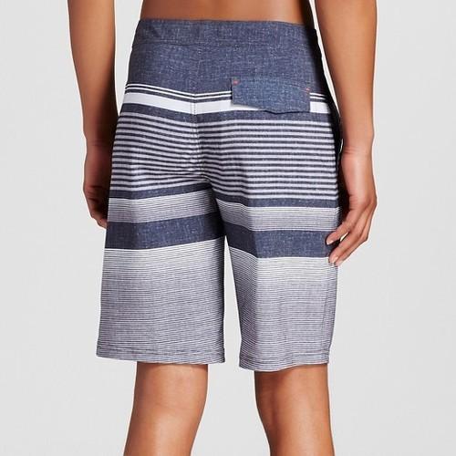 97e18fea140a0 Mossimo Supply Co.Men's Stripe Board Shorts - Black - Size: 36 ...