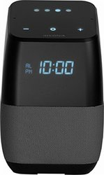 Insignia Voice Smart Bluetooth Speaker & Alarm Clock w/ Google - Gray 1820776
