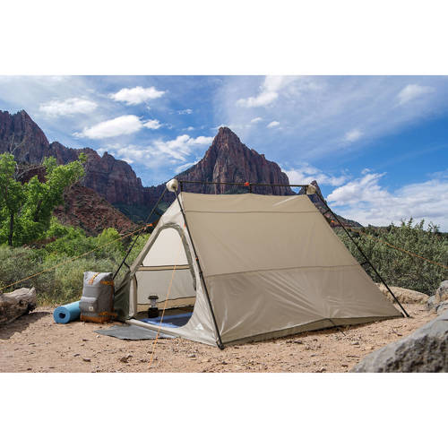 Ozark Trail 4 Person Instant A Frame Tent Beige Size8x7