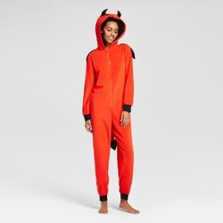 Xhilaration Women's Devil Union Suit with Wing - Red - Size: XL 1823261