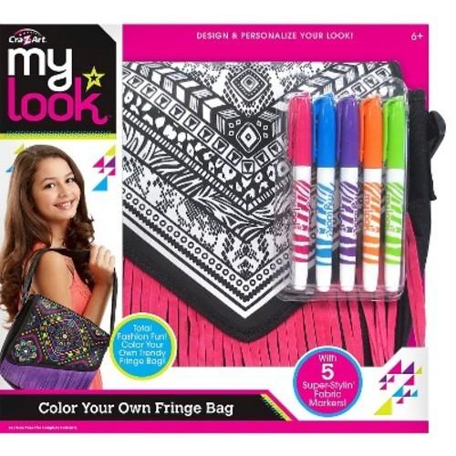 Cra Z Art My Look Color Your Own Fringe Messenger Bag Check Back Soon Blinq