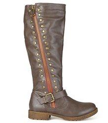Brinley Co Women's Whirl Knee High Boot,