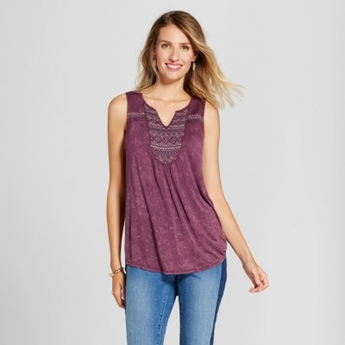 Knitting Oil Washable : Women s oil wash knit tank with embellished v neck knox