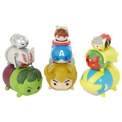 Tsum Tsum Series 2 Wave Style Marvel Action Figures - 9 Pack 1813634
