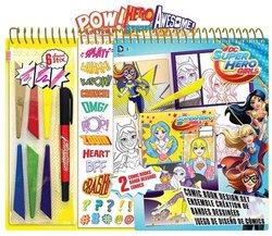 DC Super Hero Girls Comic Book Design Kit 1814501
