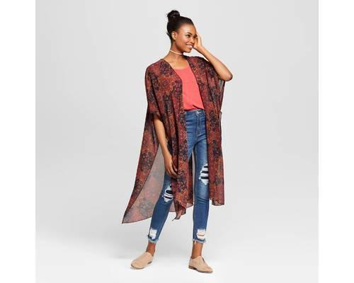 Xhilaration Women s Kimono Cardigan - Black - Size M L - Check Back ... 96c3d70c8