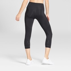 C9 Champion Women's Embrace Gel Printed Leggings - Black - Size:L 1818568