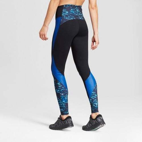 3cfb4c9268b2d ... C9 Champion Women's Freedom High-Waist Printed Leggings - Blue ...